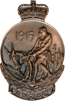 Gallipoli Medallion